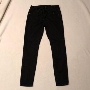 Forever 21 black skinny jeans